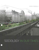 Sociology in Our Times   Mindtap Sociology  1 term Access Book