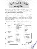 Essential Math Skills  Skills and Activities for Proficiency in Kindergarten Book