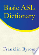 Basic ASL Dictionary
