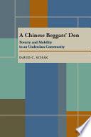 A Chinese Beggars' Den