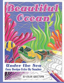 Beautiful Ocean Under the Sea Easy Design Color by Number