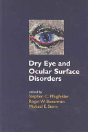 Dry Eye and Ocular Surface Disorders