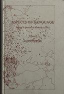 Pdf Aspects of Language: Geolinguistics Telecharger