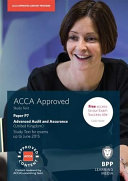 ACCA Options P7 Advanced Audit and Assurance (UK) Study Text 2014