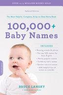 100,000+ Baby Names Pdf/ePub eBook