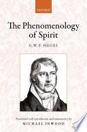 Hegel The Phenomenology Of Spirit