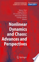 Nonlinear Dynamics and Chaos  Advances and Perspectives