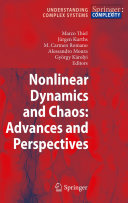 Pdf Nonlinear Dynamics and Chaos: Advances and Perspectives Telecharger