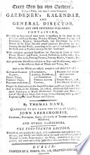 Every Man his own Gardener ... By Thomas Mawe ... J. Abercrombie and other gardeners [or rather, by J. Abercrombie]. The fourteenth edition, corrected, and greatly enlarged, etc