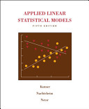 Cover of Applied Linear Statistical Models with Student CD
