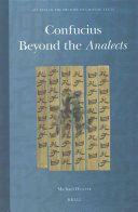 Confucius Beyond The Analects Book PDF