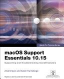 macOS Support Essentials 10.15 - Apple Pro Training Series [Pdf/ePub] eBook