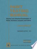 Paint Testing Manual Book PDF