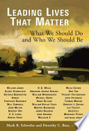 Leading Lives That Matter Book
