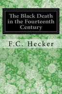 The Black Death in the Fourteenth Century Book PDF