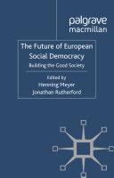 The Future of European Social Democracy Pdf/ePub eBook