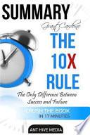 Summary of Grant Cardone's the 10x Rule