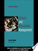 Leisure And Recreation Management Book PDF