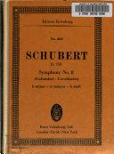 Symphony No  8  B Minor   Unfinished   Deutsch No  759