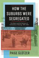How the Suburbs Were Segregated Pdf/ePub eBook