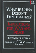 What If China Doesn't Democratize?