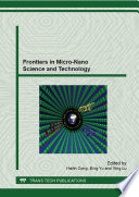 Frontiers in Micro-Nano Science and Technology