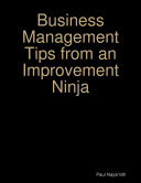 Business Management Tips from an Improvement Ninja Pdf/ePub eBook