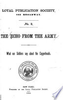 The Echo from the Army Book