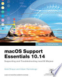 macOS Support Essentials 10.14 - Apple Pro Training Series