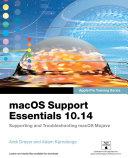 macOS Support Essentials 10 14   Apple Pro Training Series