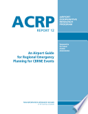 An Airport Guide For Regional Emergency Planning For Cbrne Events