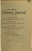 The Cornell Library Journal