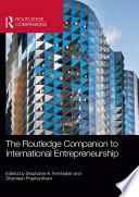 The Routledge Companion To International Entrepreneurship