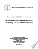 Essential fish habitat source document  Windowpane  Scophthalmus aquosus  life history and habitat characteristics