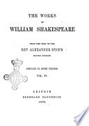The Works of William Shakespeare Complete in Seven Volumes from the Text of Alexander Dyce s