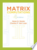 Matrix Computations Book PDF