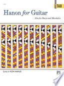 Hanon for Guitar  In TAB Book