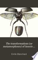 The Transformations  or Metamorphoses  of Insects  Insecta  Myriapoda  Arachnida  and Crustacea