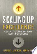 Scaling Up Excellence Book