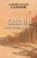 China and the Allies. Volume 2