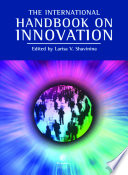 The International Handbook On Innovation Book PDF