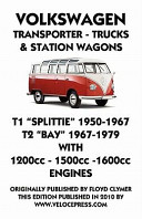 Volkswagen Transporter 1950 - 1979 1200cc - 1600cc Workshop Manual