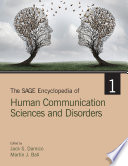 The SAGE Encyclopedia of Human Communication Sciences and Disorders