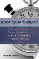 Boot Camp Therapy  Brief  Action Oriented Clinical Approaches to Anxiety  Anger    Depression Book