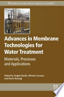 Advances In Membrane Technologies For Water Treatment Book PDF