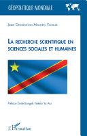 Pdf La recherche scientifique en sciences sociales et humaines Telecharger