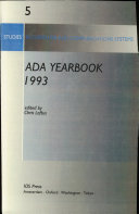 ADA Yearbook 1993
