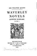 Waverley Novels: Quentin Durward