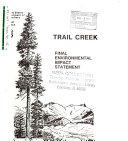 Beaverhead National Forest  N F    Trail Creek Timber Sale  Beaverhead County