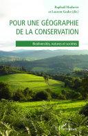 Pdf Pour une géographie de la conservation Telecharger